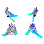 Two Interacting Hands